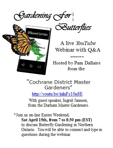 Gardening for Butterflies poster
